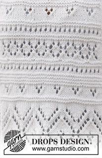 Photo of DROPS pattern archive: lace pattern