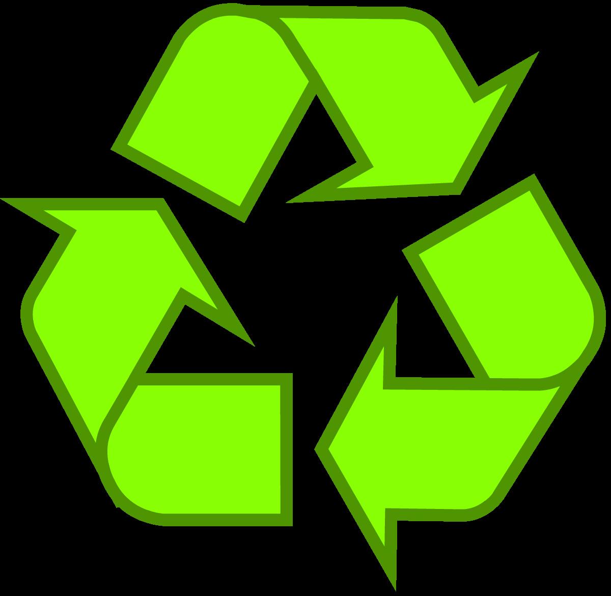 Light Green Universal Recycling Symbol Logo Sign Httpwww
