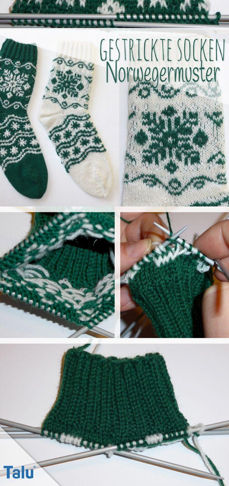 Photo of Knitted Socks: Knit Norwegian Patterns Free knitting instructions