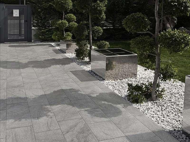 Pavimentazione da giardino pavimento in gres porcellanato