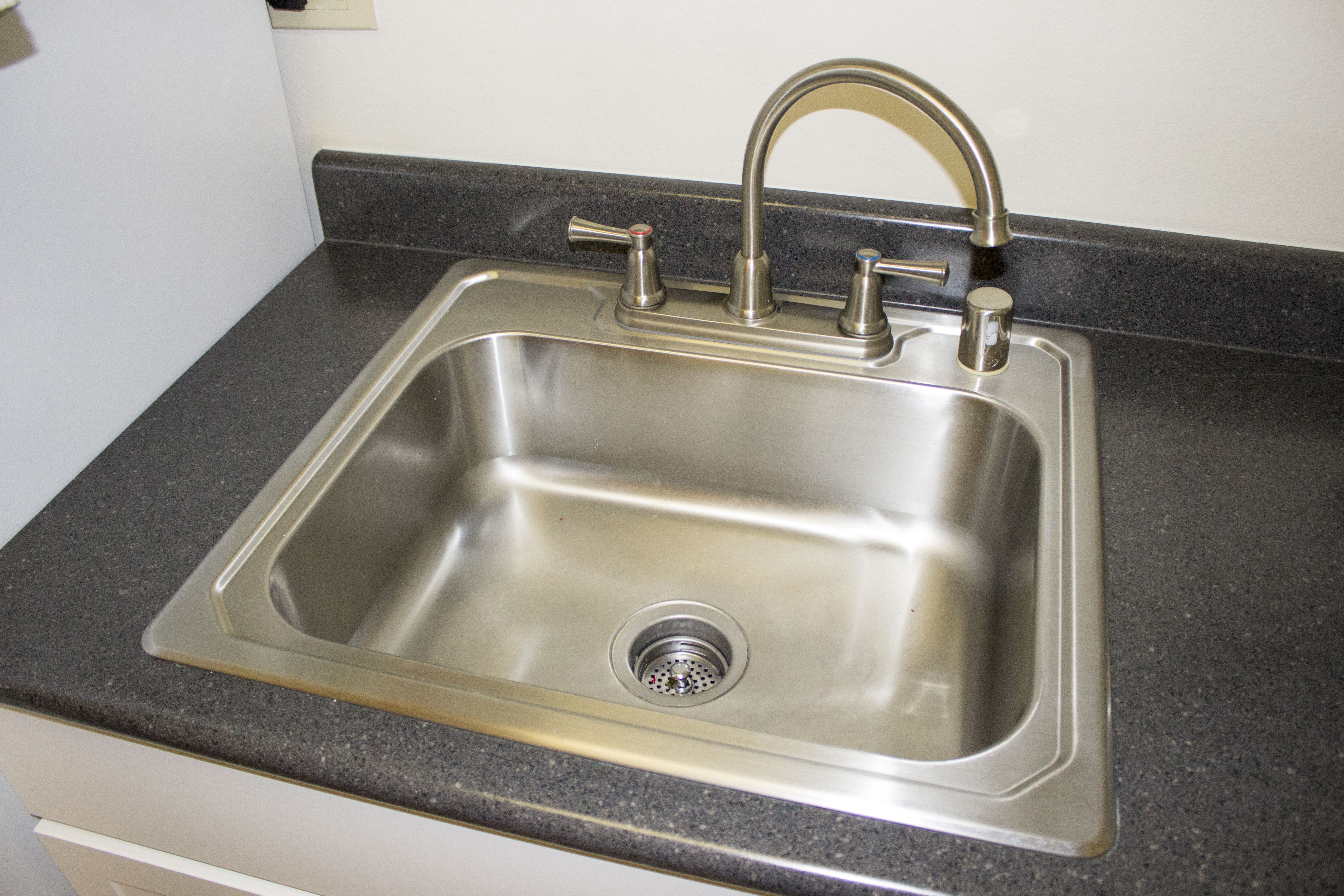 How To Paint A Kitchen Sink With