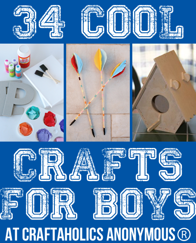 34 Cool Crafts For Boys Crafts Crafts For Boys Fun Crafts