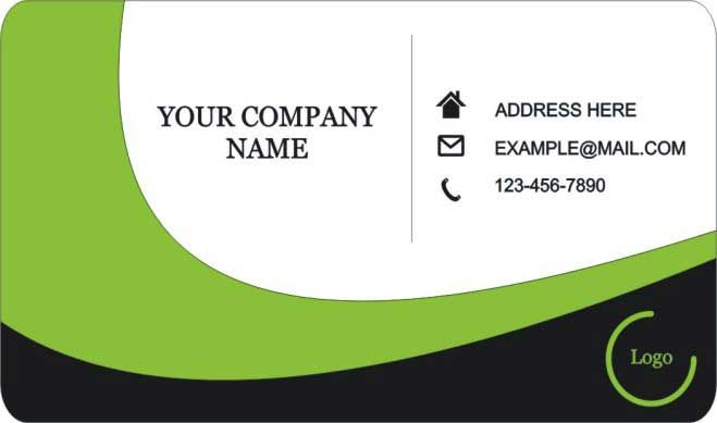Round Business Card Visiting Card Design Visiting Cards Round