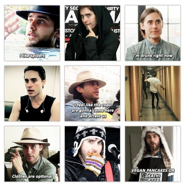 And he's my inspiration.... HAHAHA   JARED LETO