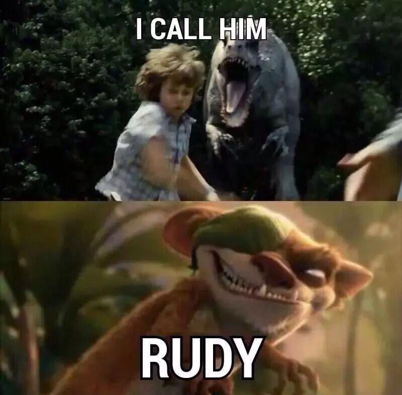 I call him... Rudy