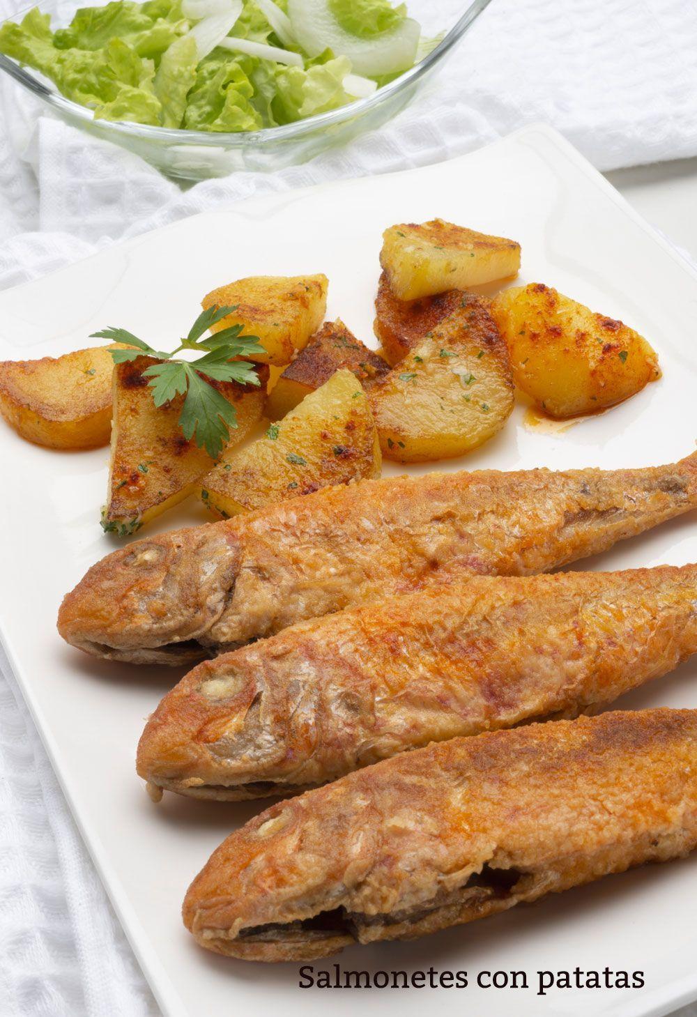 26 Ideas De Salmonetes Pescado Recetas Pescados Y Mariscos