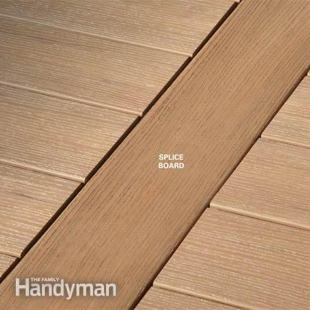 how to join end grain timber for decking