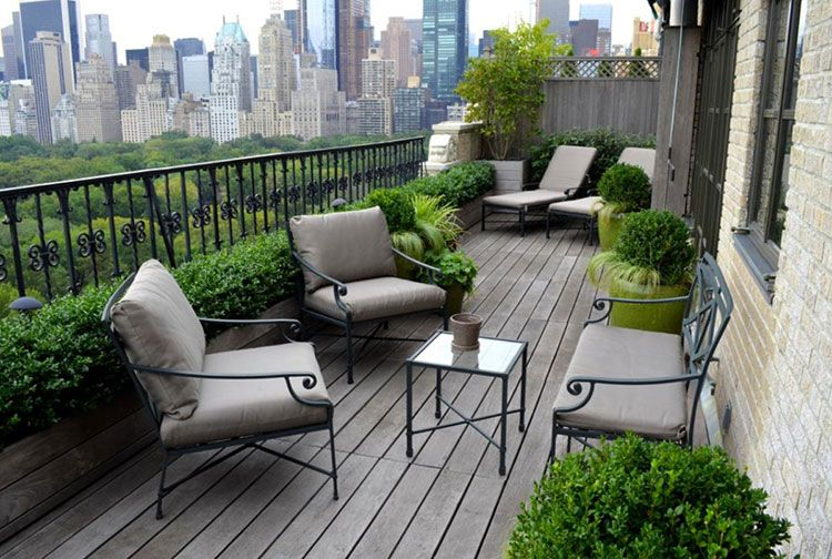 Idee Per Arredare Il Patio : Arredamento per balconi: semplici idee per piccoli spazi balconies