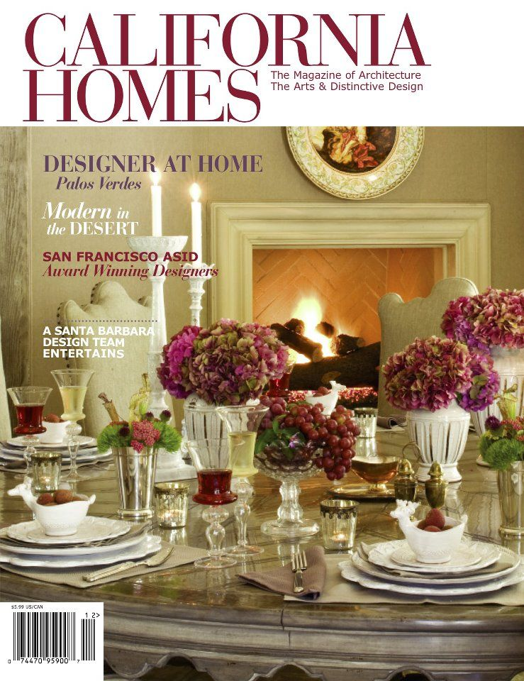 California Home Features Cover Story November 2012