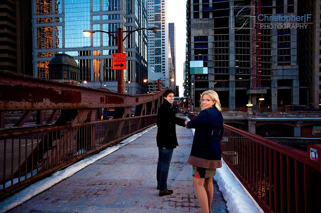 Chicago Engagement Photo - Christopher|F Photography