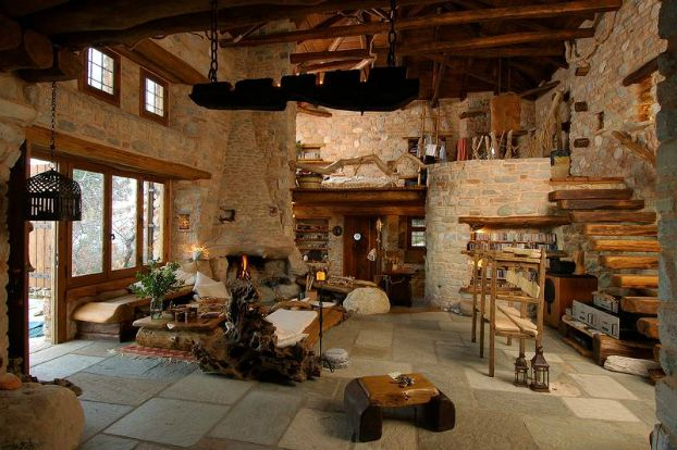 image result for stone interior