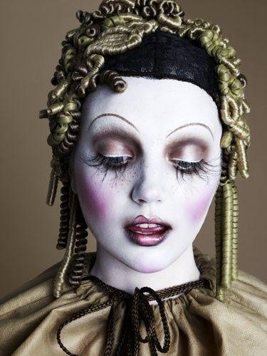 harlequin makeup #halloween #makeup #theatrical