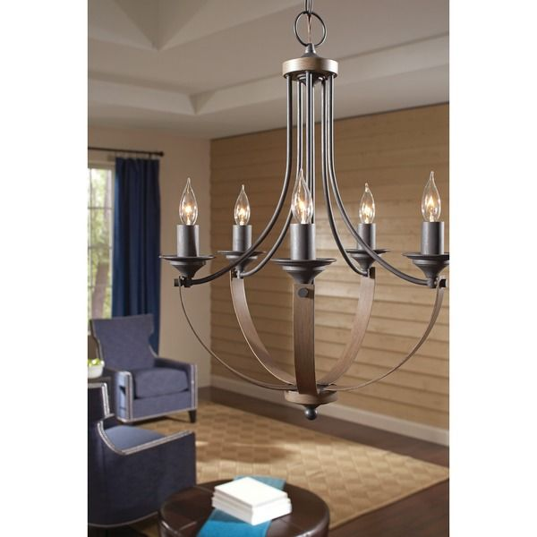 Corbeille 5 light stardust candelabra chandelier overstock shopping great deals on seagull lighting