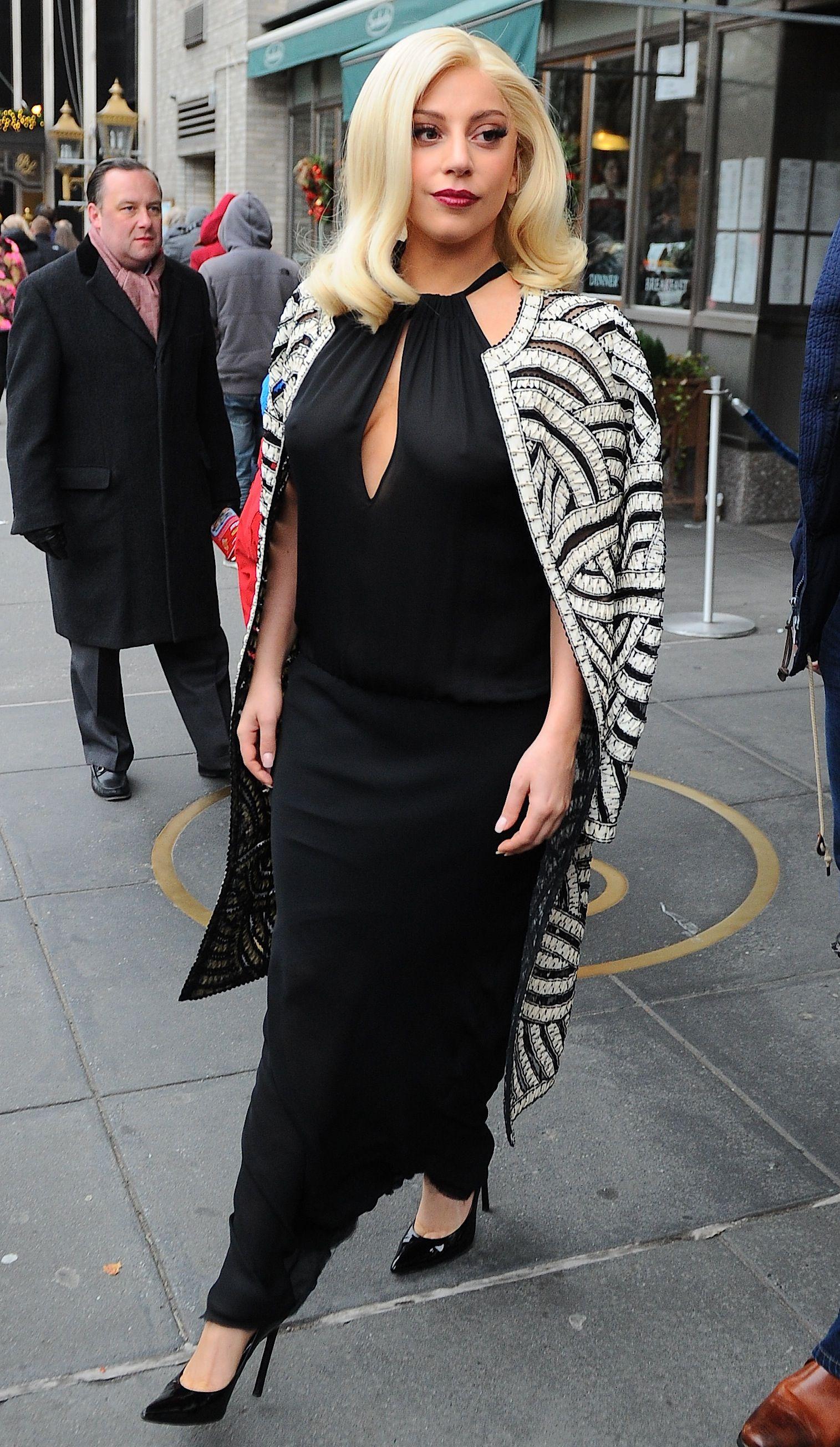 a34bb70c9b Gaga leaving her hotel - december 20