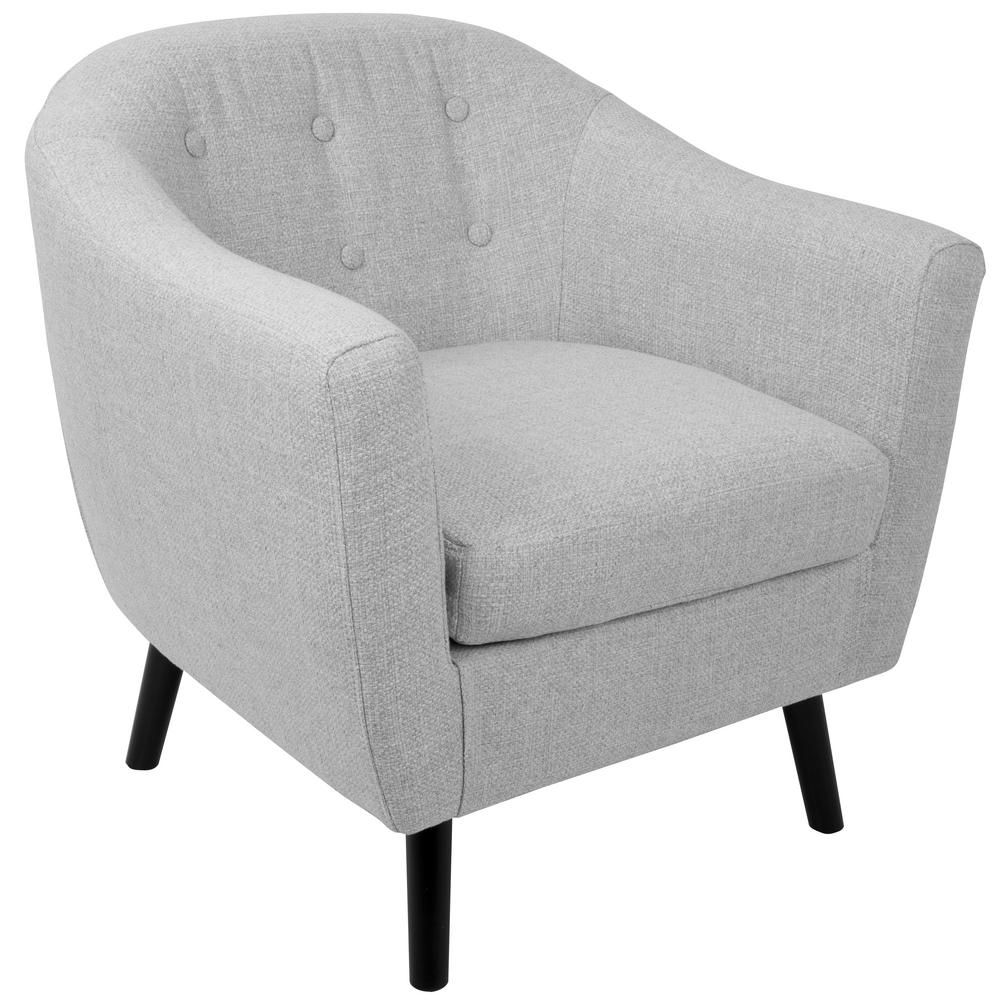 Modern Fabric Accent Chair Living Room Arm Chair Upholstered