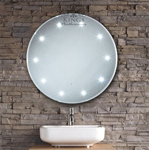 Mirror Design Ideas Decorative Crafted Round Bathroom