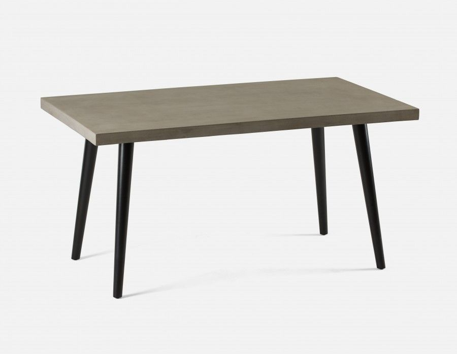 Great Nilsson Dining Table With Concrete Top Structube In