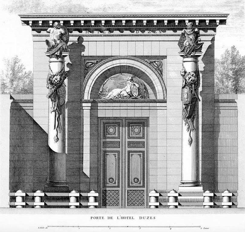 hotel thelusson paris Google Search Architecture Claude Nicolas Ledoux Pinterest