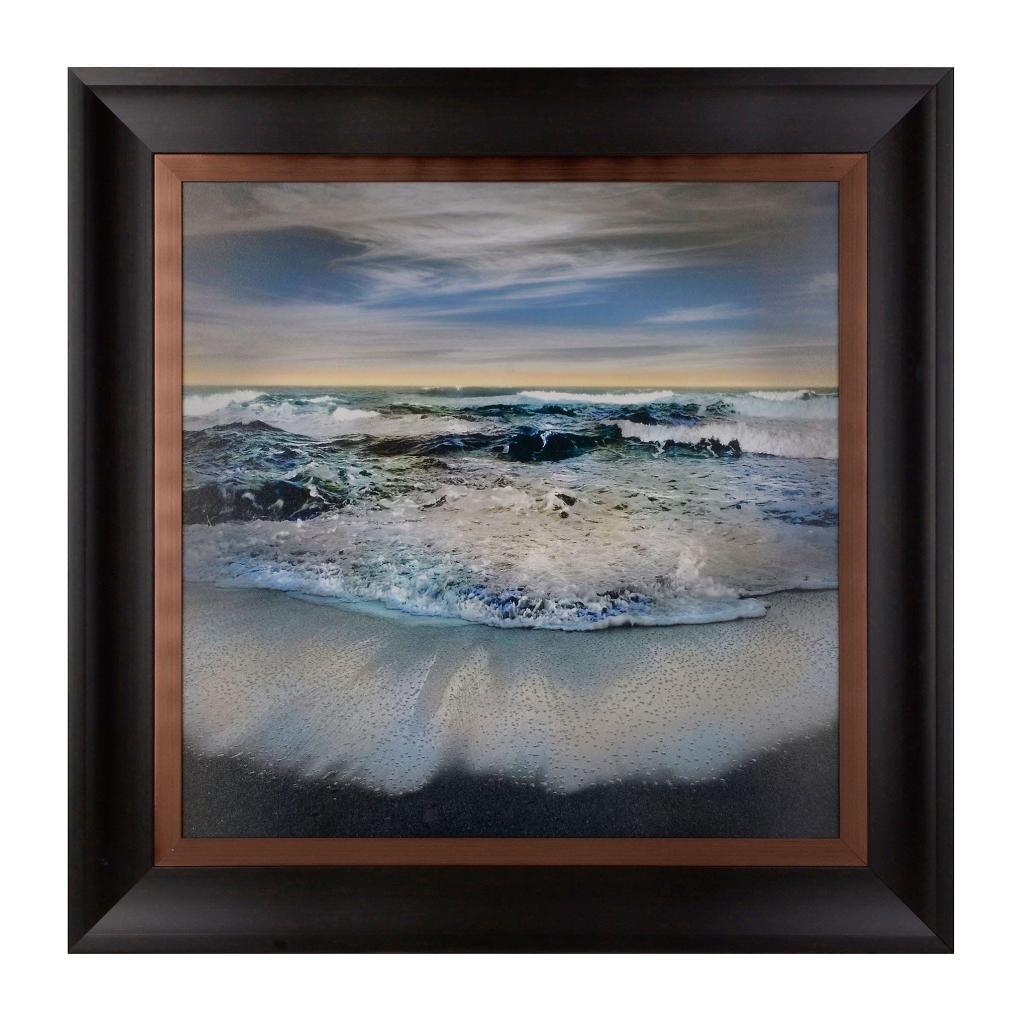 Majestic Ocean Framed Art Print Framed Art Prints Beach Themed Bedroom Framed Wall Art