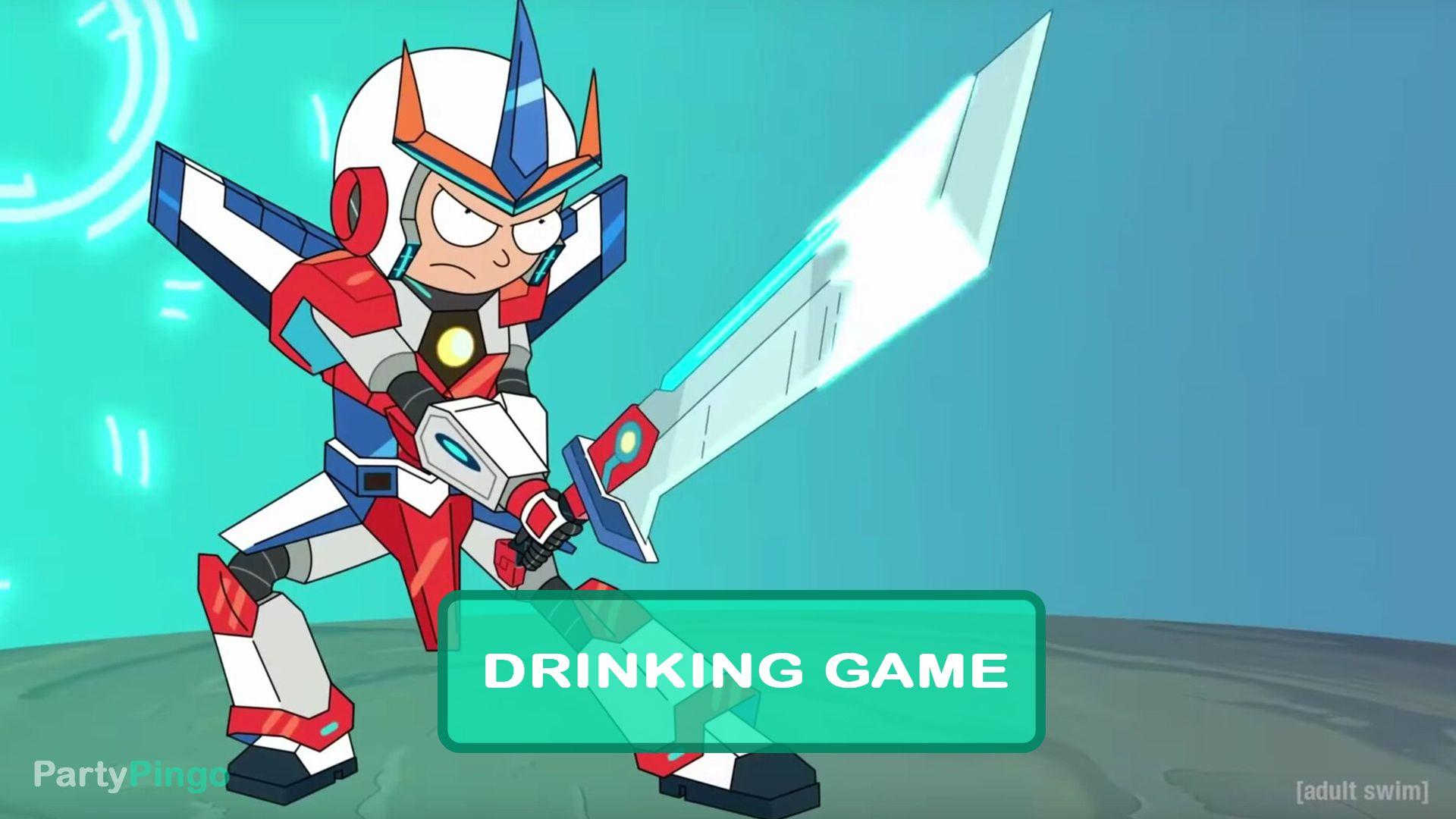Rick And Morty Promortyus Drinking Game Season 4 Episode 7 Rick And Morty Drinking Games Rick And Morty Season