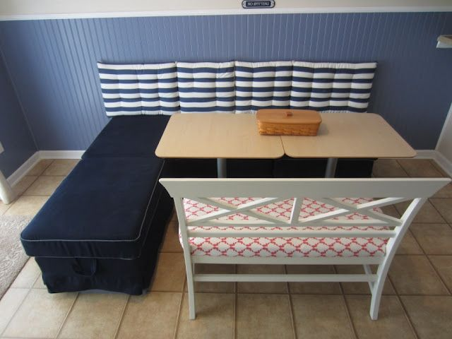 Create a Kitchen Booth with IKEA Ottomans (SST # 20)