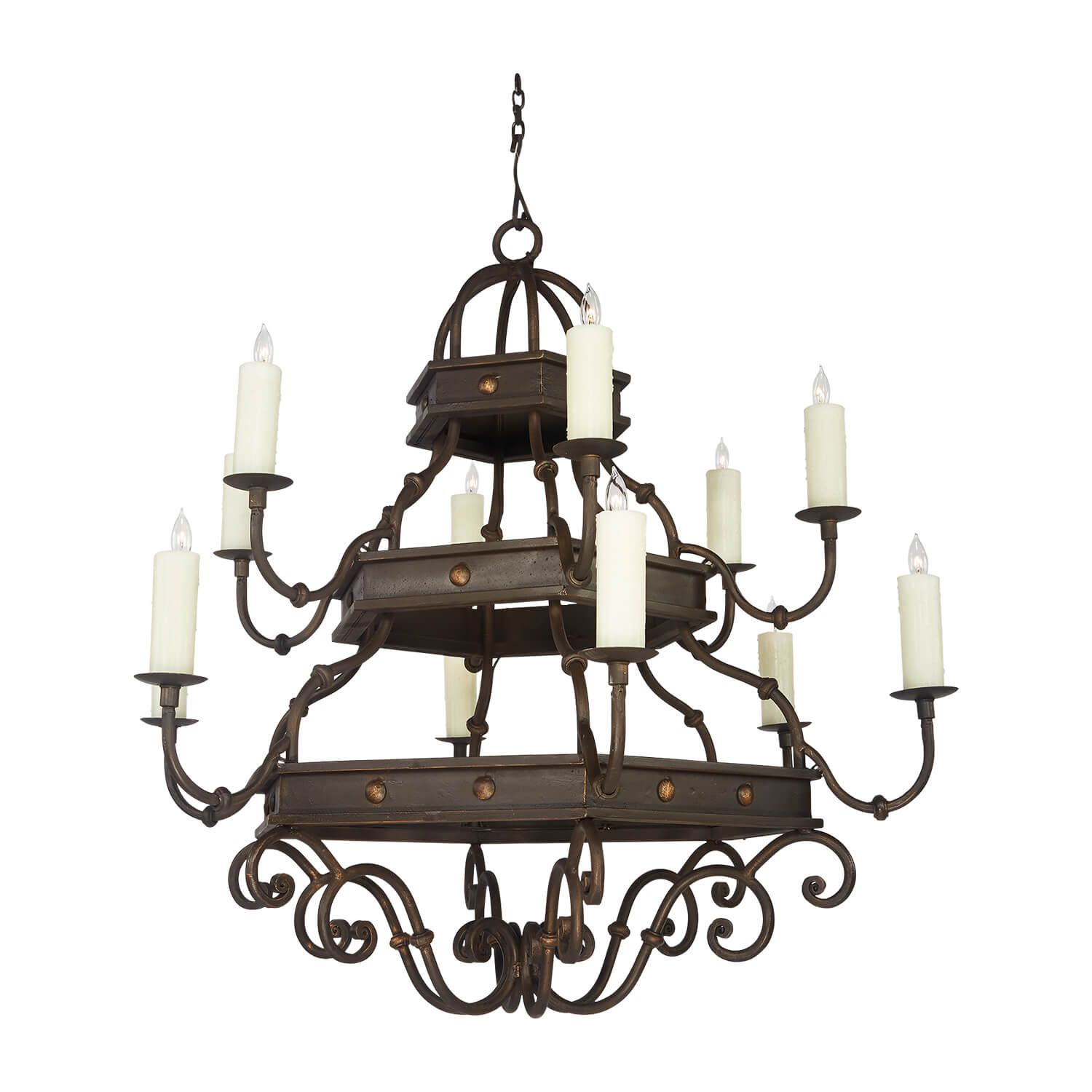 12 Light Venetian In 2020 Iron Chandeliers Wrought Iron