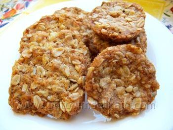 Печенье с грецкими орехами простой рецепт