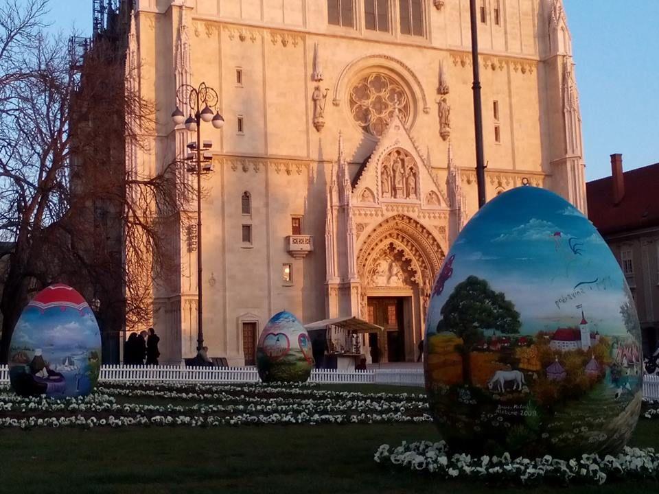 Pisanice Na Kaptolu Barcelona Cathedral Zagreb Photo