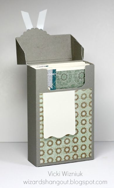 Paper Decorative Boxes New Wizard's Hangout Card Boxes  Boxes & Pouches  Pinterest  Box Decorating Inspiration