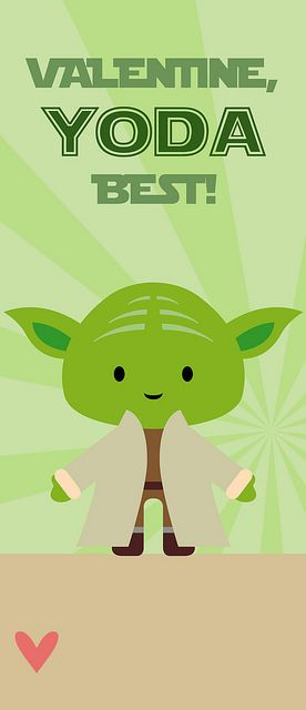 free printable Star Wars valentine for glow stick Things I\u0027ve