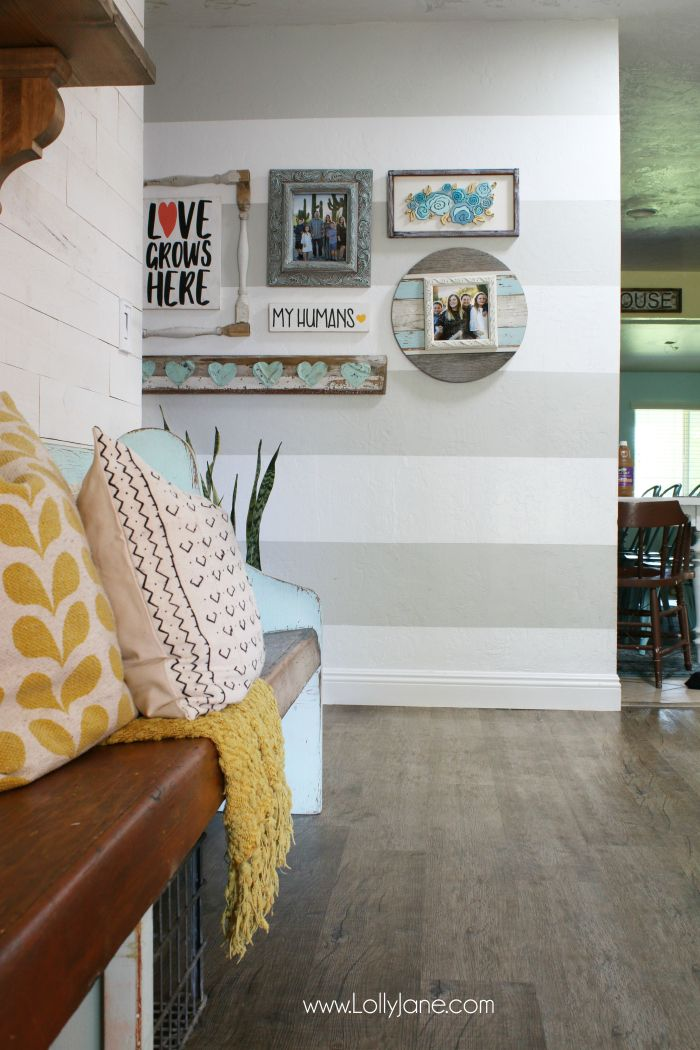 flooring cleaning tips the fast way pinterest favorites pinterest gallery wall striped. Black Bedroom Furniture Sets. Home Design Ideas