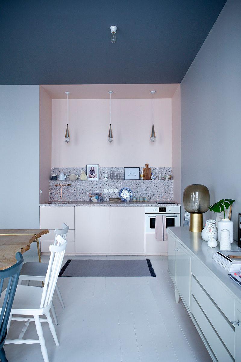 Küchenideen farben chez marie sixtine  kitchen  pinterest  küchen design design und