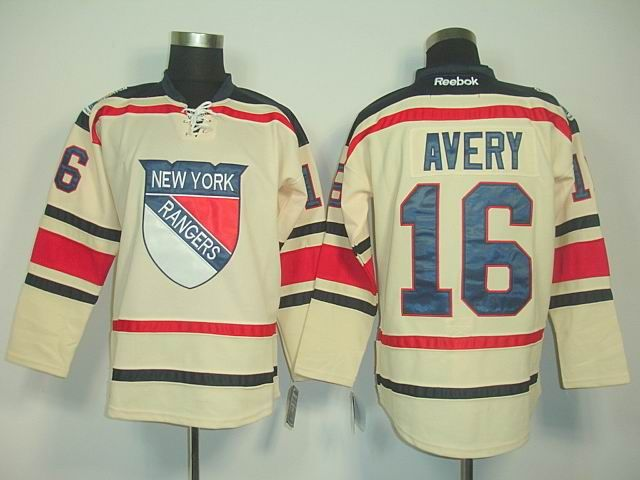 the best attitude 20ca2 1b7b9 New York Rangers 16 Sean AVERY 2012 Winter Classic Jersey ...