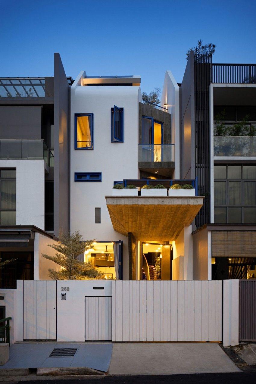 singapore house house exteriors facade house small houses modern homes