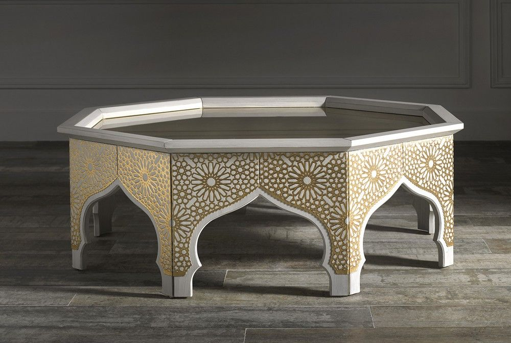 Magnifique Table Basse Orientale Baroque Furniture Furniture