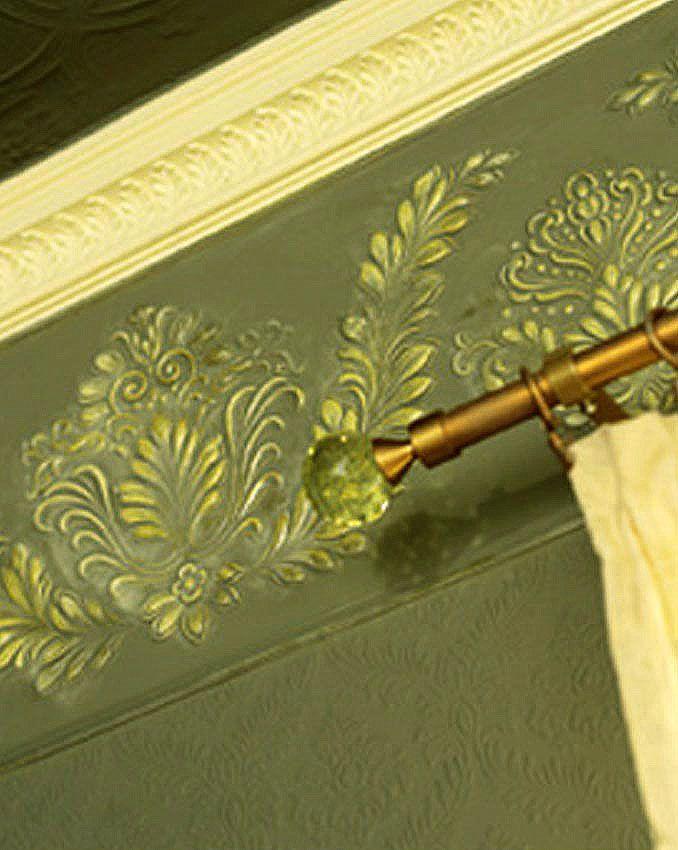 Lincrusta Stil Bordüre - Linkrusta wallpaper 1B online kaufen - tapeten bordüren wohnzimmer