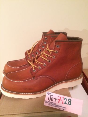 Red Wing 00875-3 Leather Moc Toe  boot NO RESERVE https://t.co/EAwsvRl4WD https://t.co/nuilRwkdLo