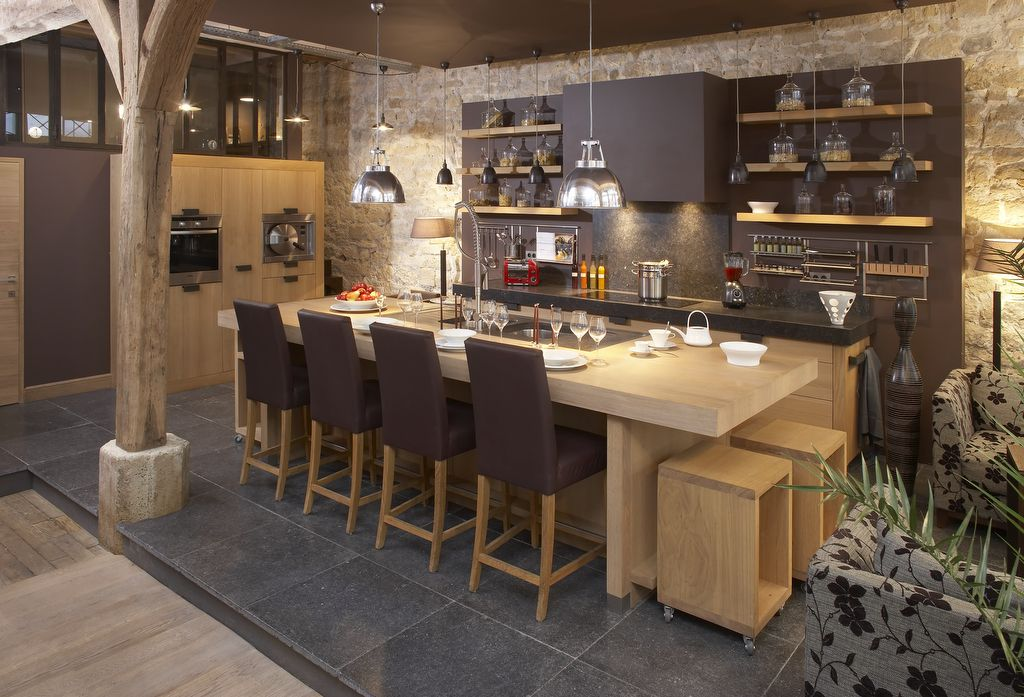 Zen kitchen I really like !!!! kitchen ideas for the future - offene küche wohnzimmer abtrennen