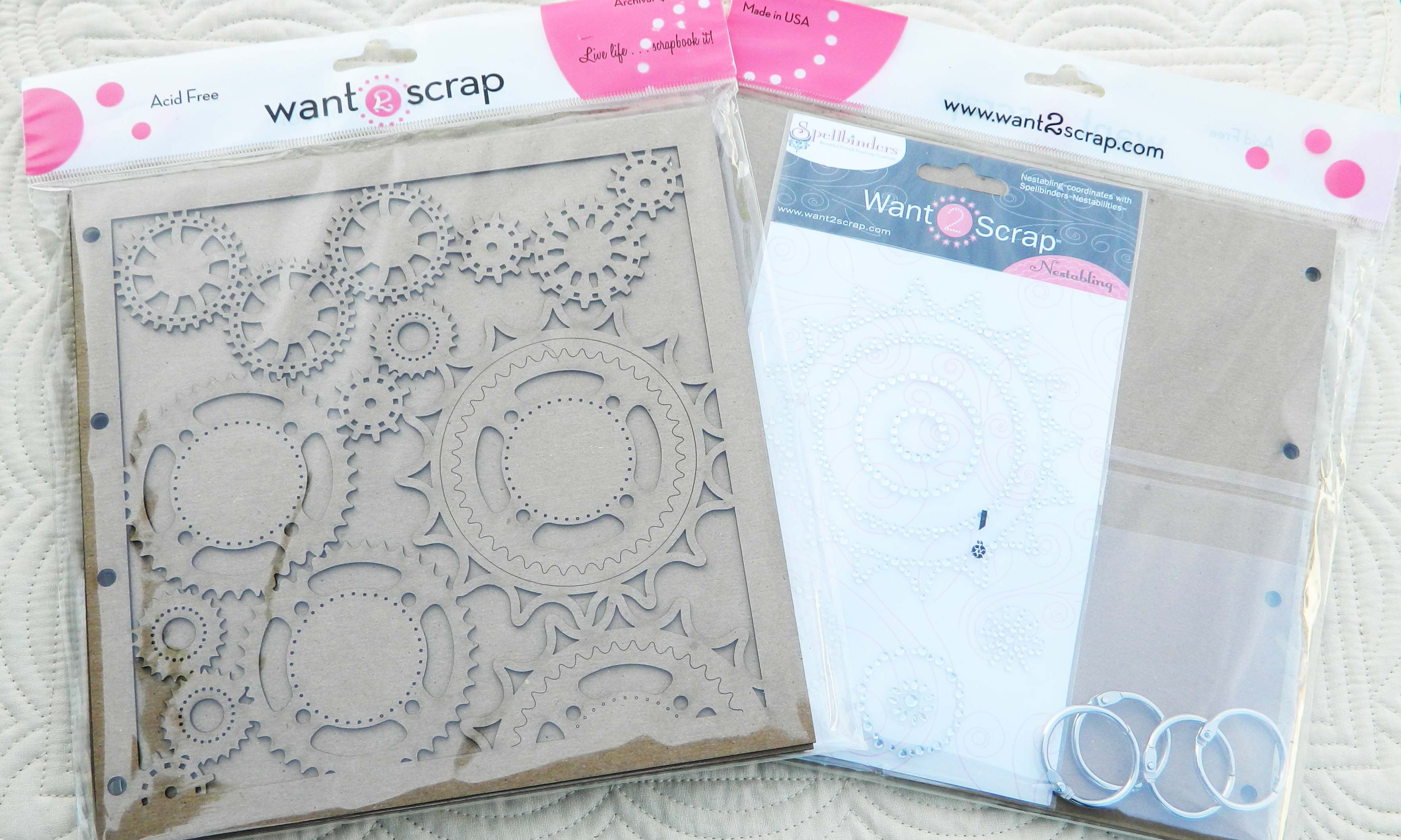 Donna Salazaer Sprightly Sprockets album from Want2Scrap  - must have