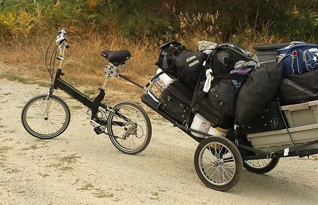 Prepper Problem Solving Creating A Bug Out Bike And Trailer Rig The Prepper Journal Bug Out Vehicle Bike Trailer Bicycle