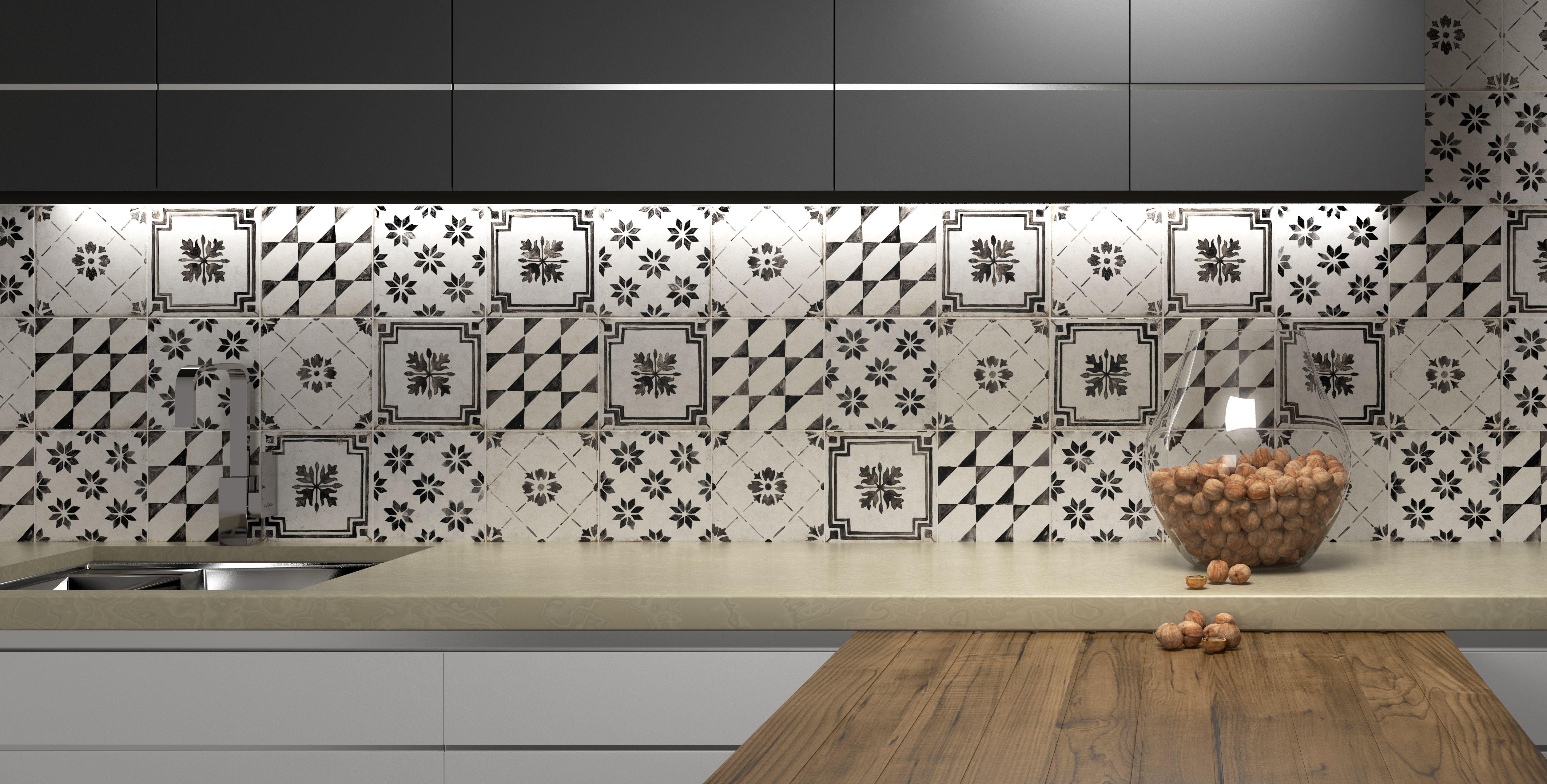 Dekorfliesen für den neuen Küchenstyle - Retro ist Trend ...