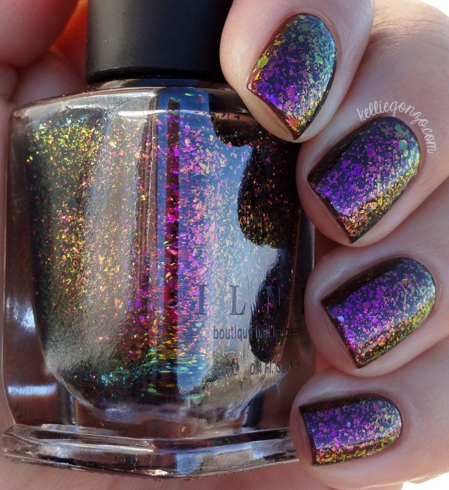 KellieGonzo: ILNP Neon Rosebud Swatch & Review