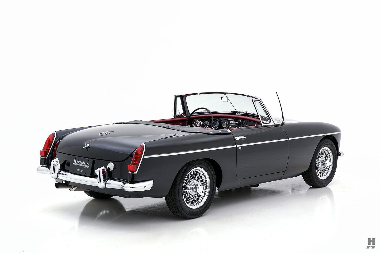 1963 MG MGB ROADSTER