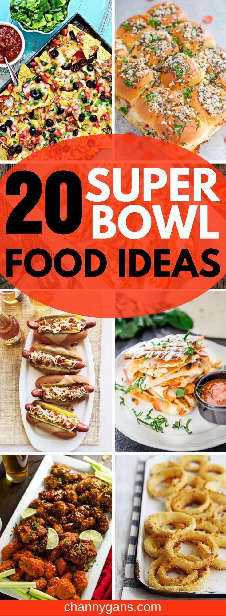 Watch 20 Better-For-You Super Bowl Recipes video