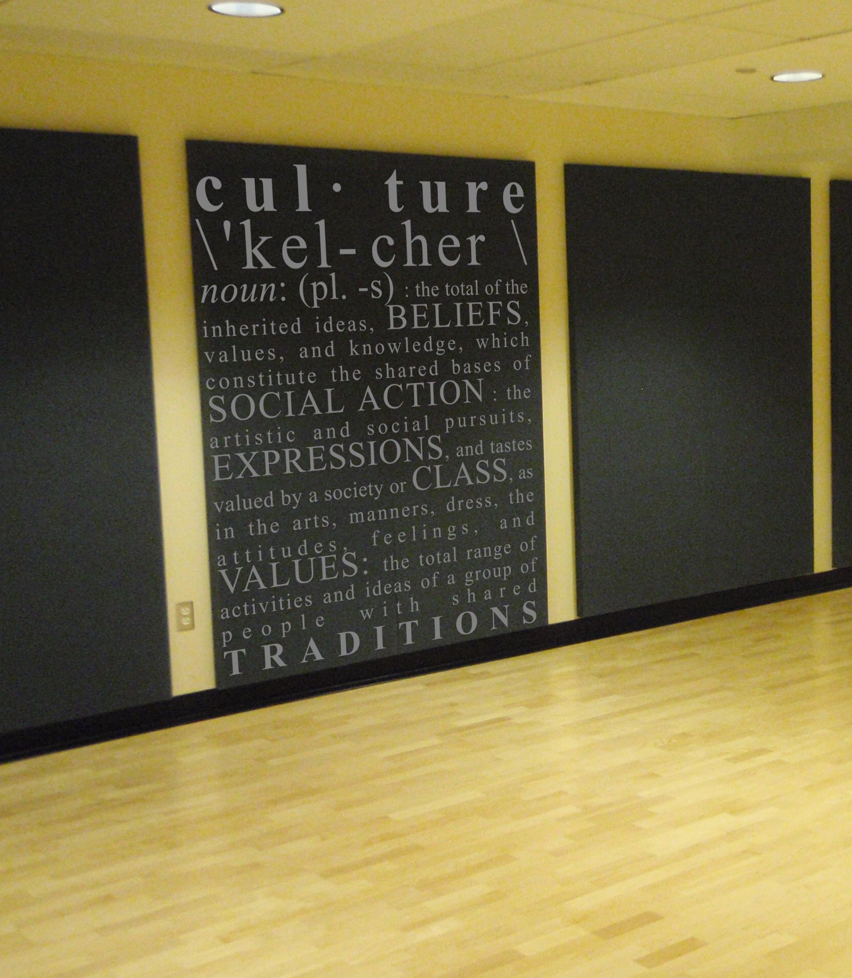 Culture Definition Wall Decal | Culture definition, Wall decals and ...