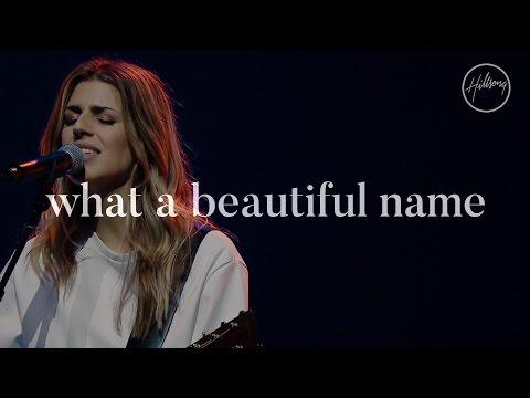 What A Beautiful Name - Hillsong Worship - YouTube