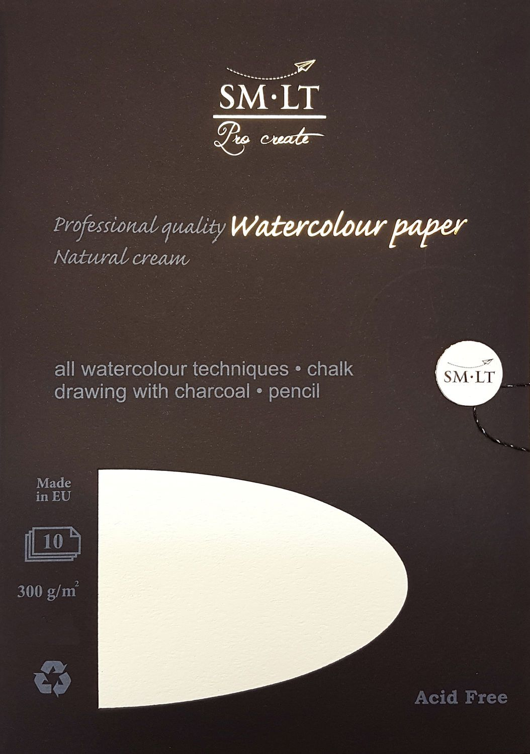 SM-LT Pro Crate akvarellipaperi - Watercolor paper. #watercolorpaper