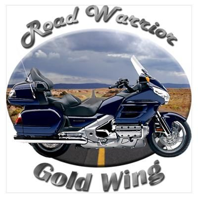 Honda Gold Wing Poster - Road Warrier
