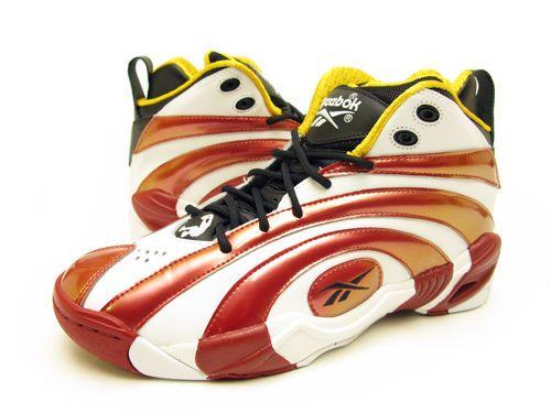 4a74f72cb615c6 Reebok Shaqnosis Retro Shoes V51849 Sz 12 Black Nuclear Yellow Excellent Red   Reebok  BasketballShoes