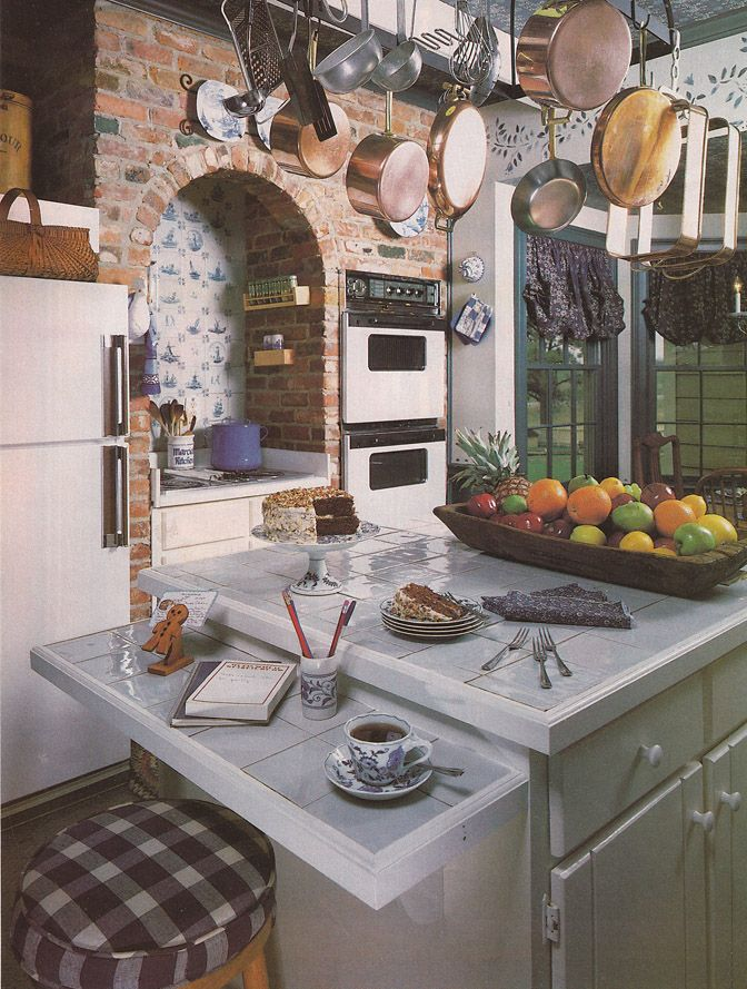 vintage goodness a blog for all the vintage geeks vintage 80 s home decorating trends on kitchen interior classic id=13429